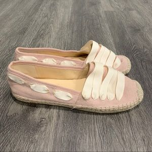 Enzo Angiolini Fenz Slip On Dusty Pink Flats